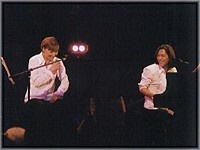 TK and KEIKO on Stage