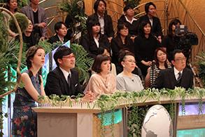 左から)春香クリスティーン、山里亮太、千秋、柴田理恵、梅沢富美男