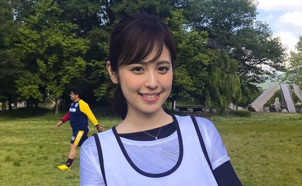 久慈暁子アナ、日本つながるプロジェクトで地元岩手を走る!「たすきの重みを…」 - フジテレビ